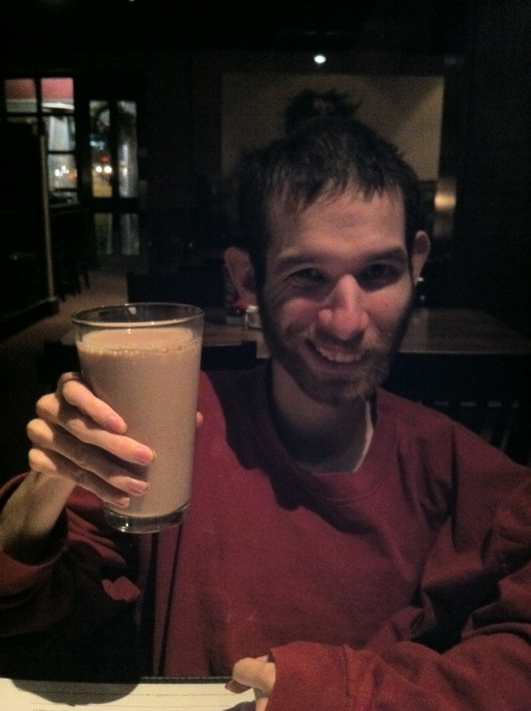 David's Chocolate Milk @ Jack Stack, KC