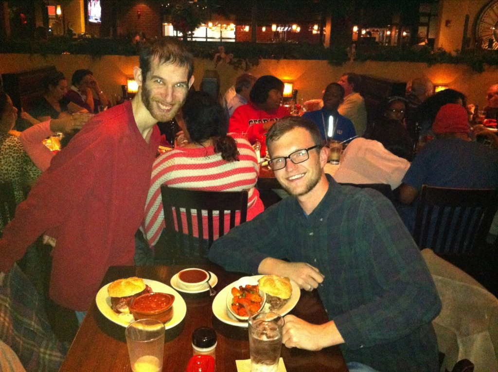David & Brandon @ Jack Stack BBQ, KC