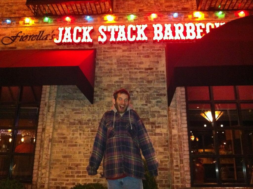 David @ Jack Stack BBQ, KC