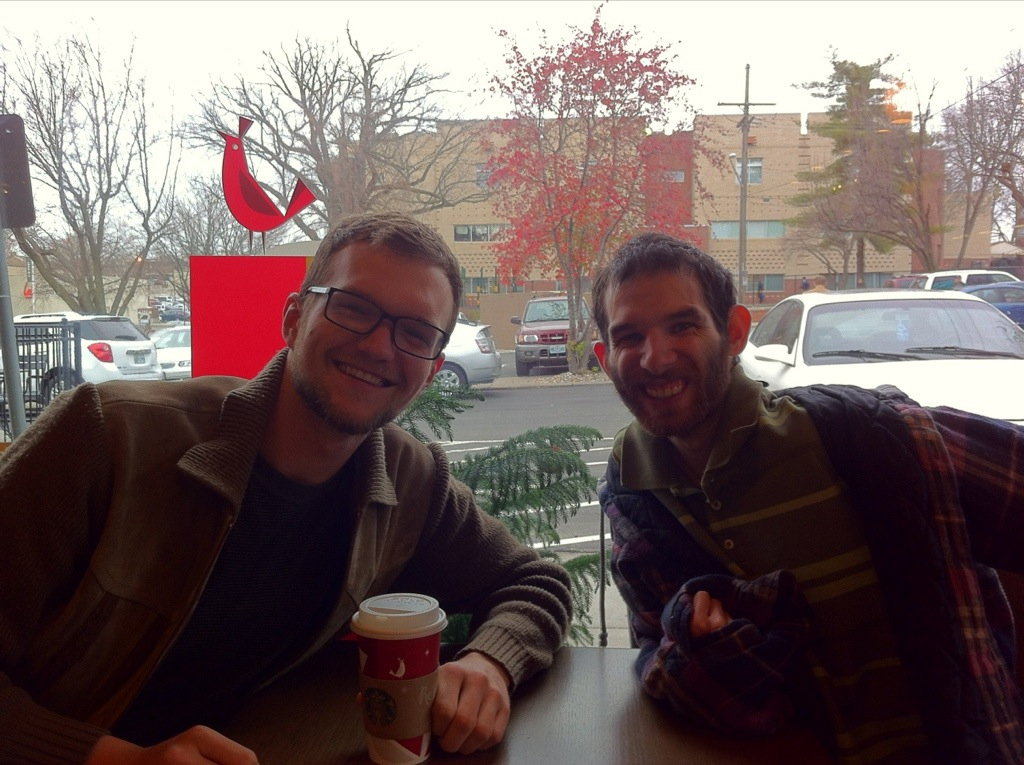 Brandon & David @ Starbucks, KC