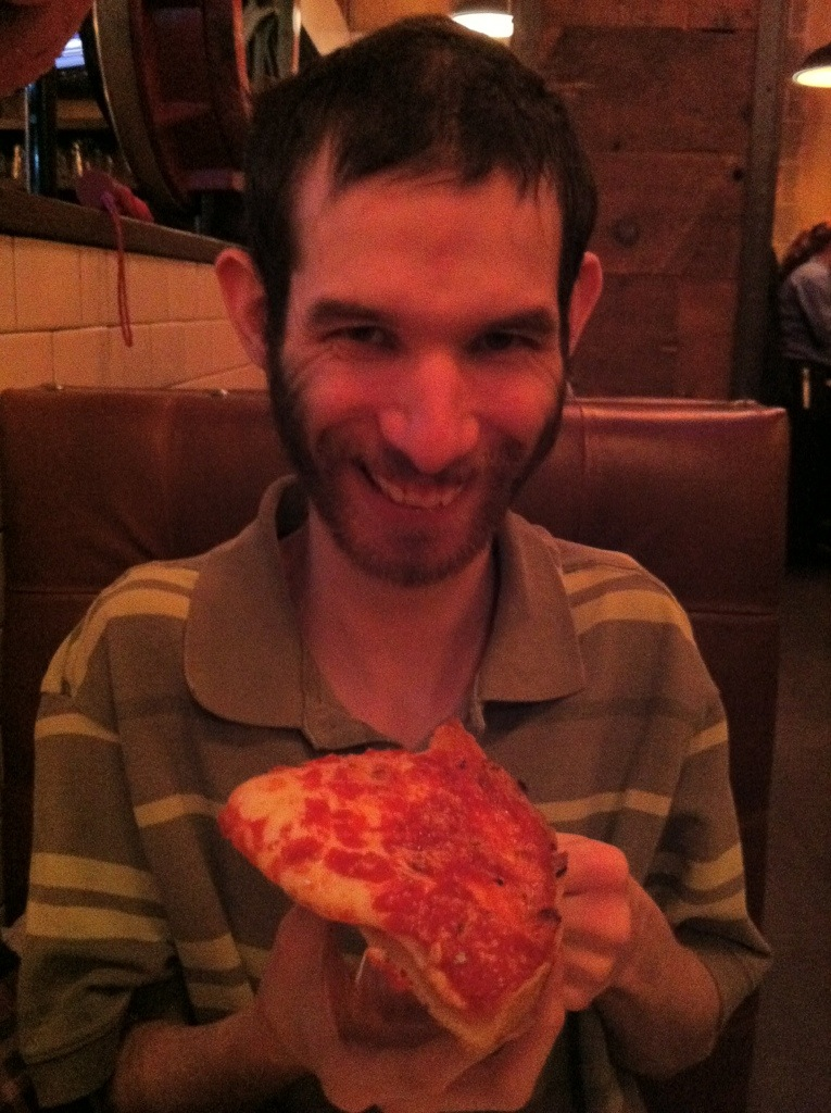 David and Chicago Pizza