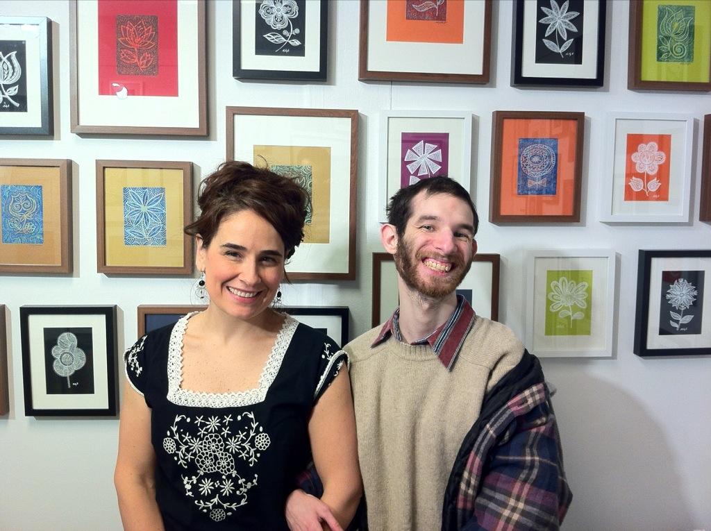 Molly Z. and David