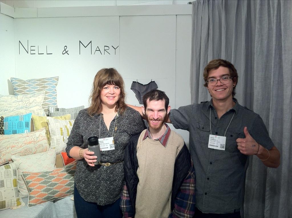 David w/ Nell & Mary