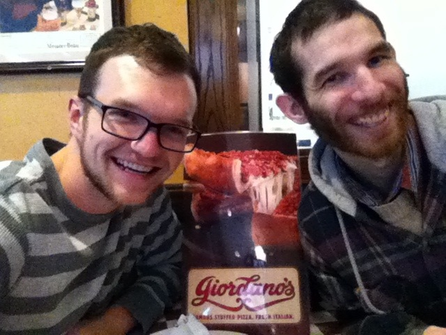 Brandon and David @ Giordano's