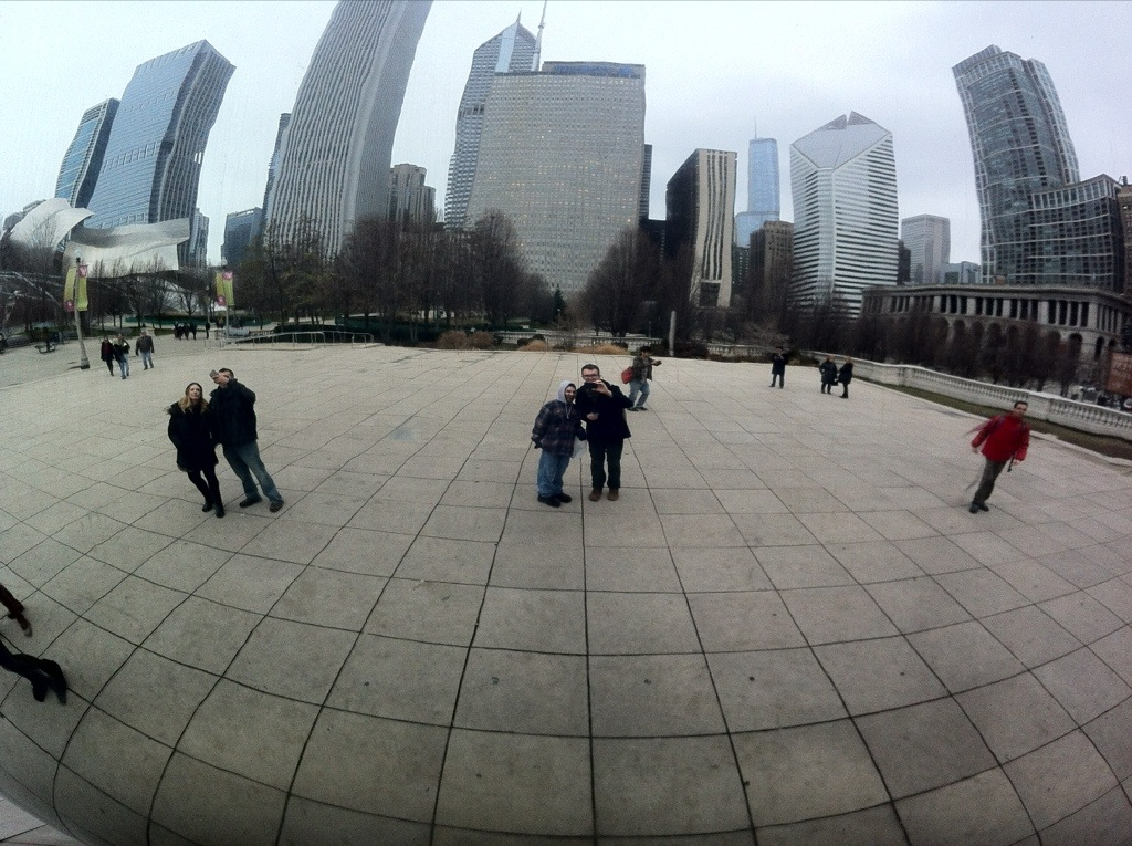 David and Brandon @ Cloud Gate