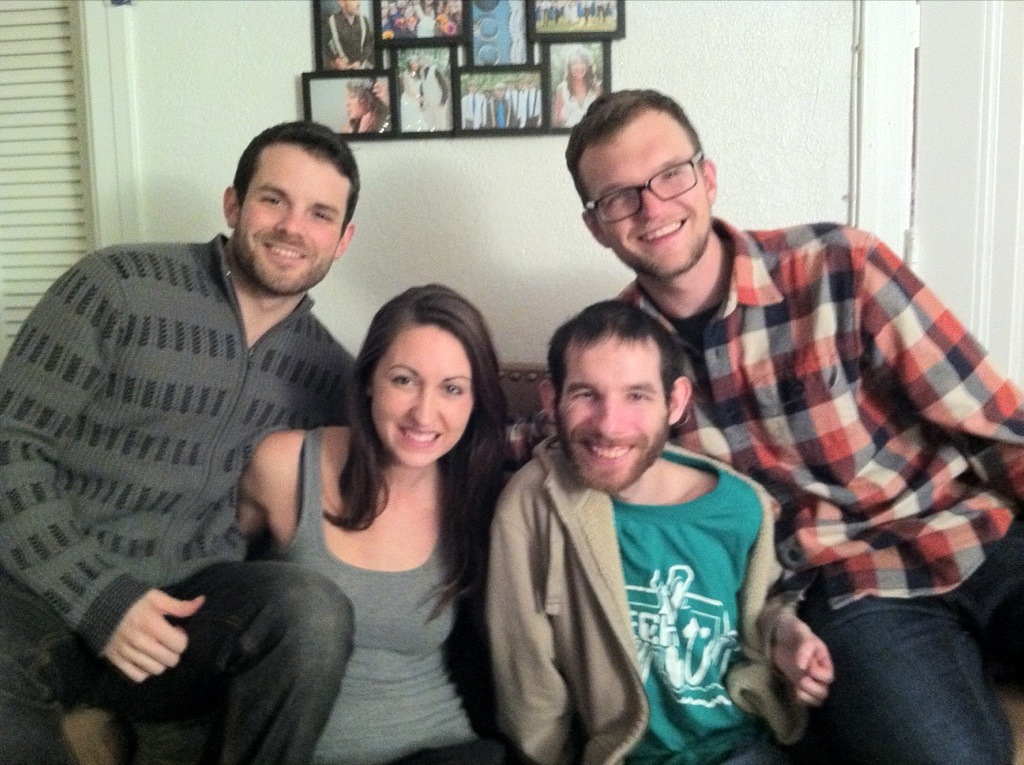 David, Brandon, and the Pritchards