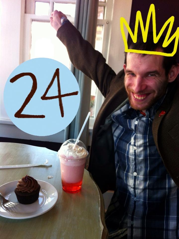 David's Turning 24!