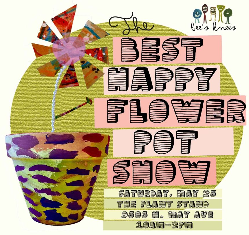 The Best Happy Flower Show Graphic Small